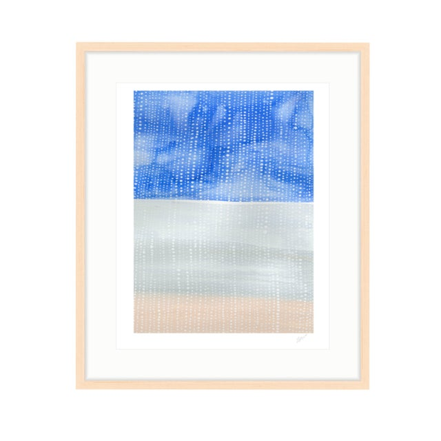 """Shorelines IV"" Watercolor Giclee Print - Image 2 of 5"