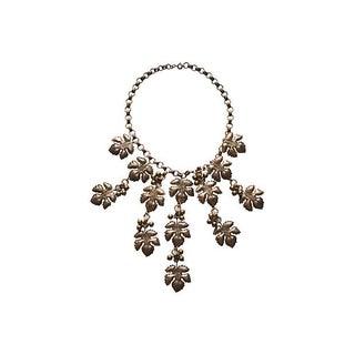 1930s Vintage Leaf Necklace