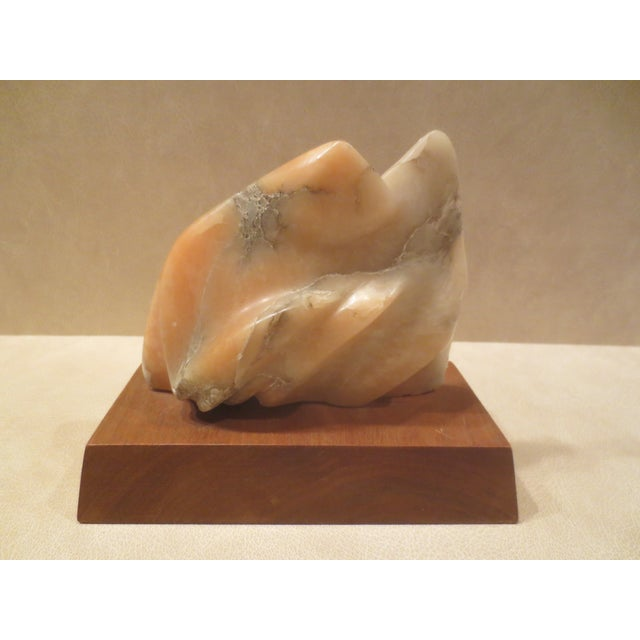 Image of Pink Marble Hyam Myer Sculpture, Circa 1960