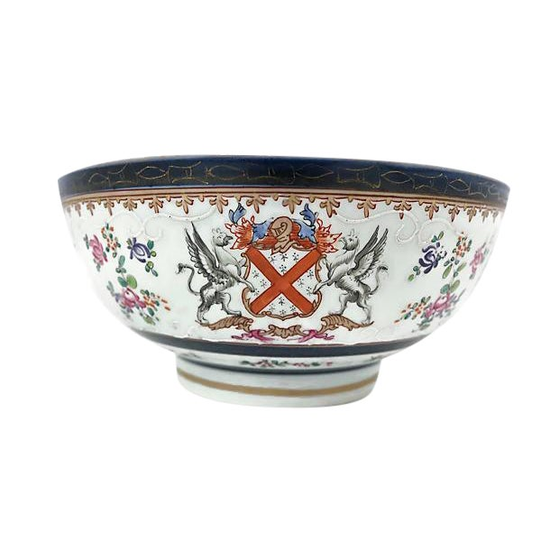 Large 19th-C French Porcelain Bowl - Image 1 of 6