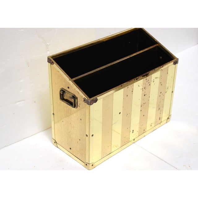 Brass Campaign-Style Magazine Holder - Image 3 of 5