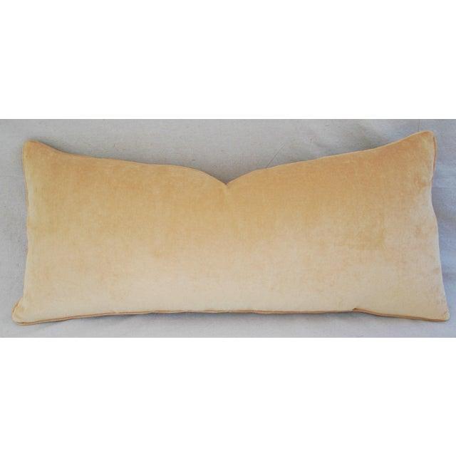 custom safari leopard velvet lumbar body pillow chairish. Black Bedroom Furniture Sets. Home Design Ideas