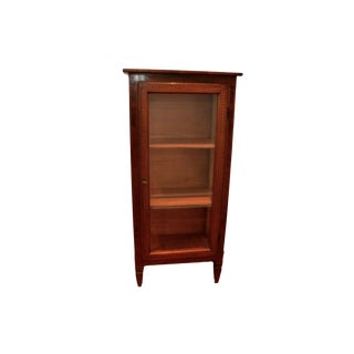 Glass Door Vitrine Cabinet