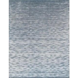 "Modern Silk & Wool Area Rug - 8'2"" X 10'"
