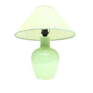 Moroccan Green Ceramic Table Lamp