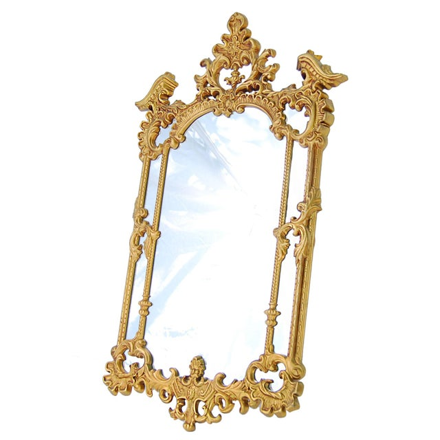 Gold Royal French Style Mirror - Image 2 of 5