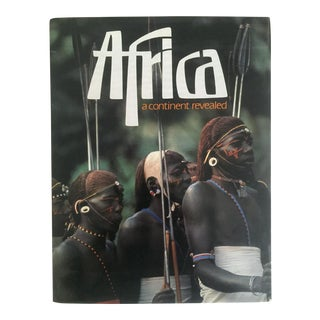 """Africa a Continent Revealed "" Vintage 1980 Cultural Photography Large Hardcover 1st Edtn Book"