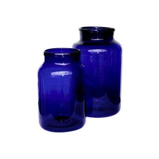 Oversized European Pickling Jars - Pair