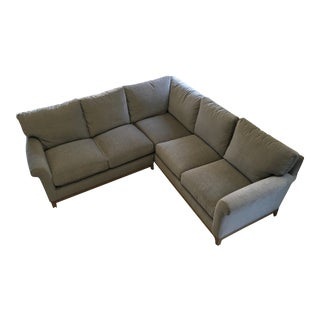 Contemporary Lee Industries Gray Sectional