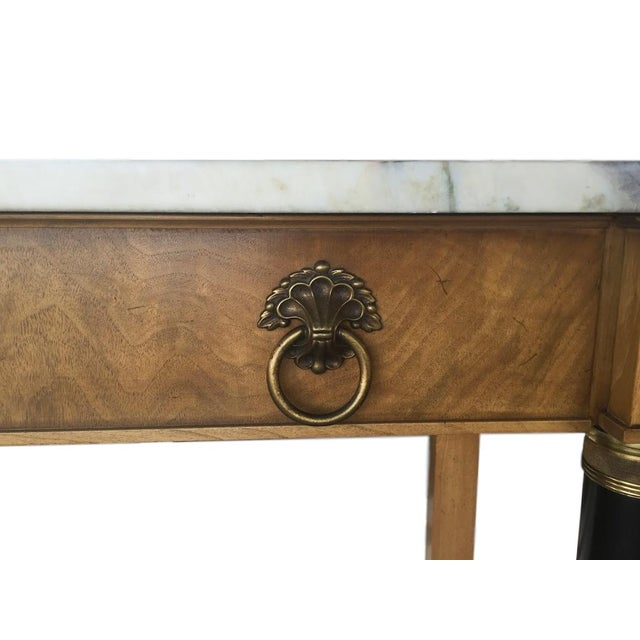 Image of John Widdicomb Neoclassical Console Table