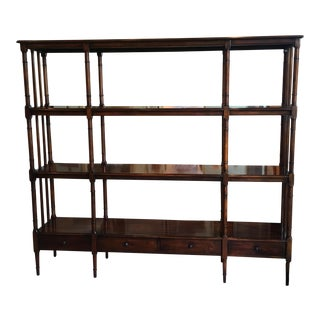 Oversized Etagere with 4 Drawers