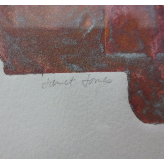Janet Jones Framed rint on Paper - Solitary Canyon - Image 4 of 5