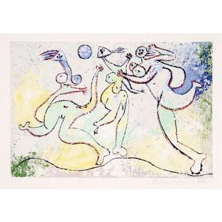 Pablo Picasso - Trois Femmes Jouant Au Balloon Sur