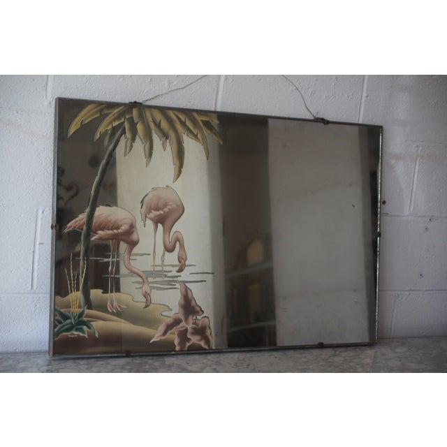 Image of Original C. 40s Turner Flamingo Decorative Mirror