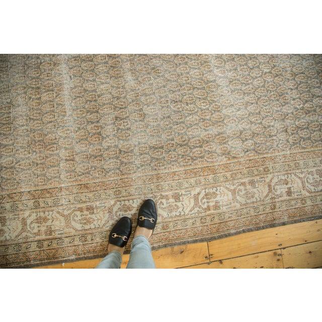 "Vintage Distressed Oushak Carpet - 8'11"" x 12'6"" - Image 4 of 10"