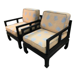 Vintage Royal Cathay Asian Chairs - A Pair