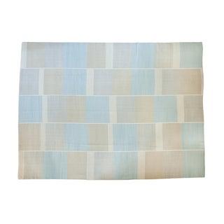 "New Blue Kilim Carpet - 9'3"" X 12'5"""