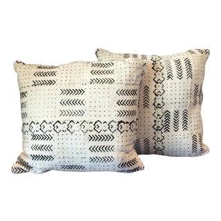 Handmade Mudcloth Pillows - Pair