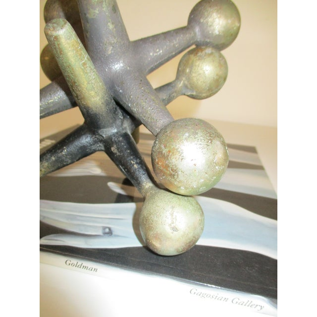 Cast Iron Jacks Bookends Bill Curry Mid Century - Image 3 of 11