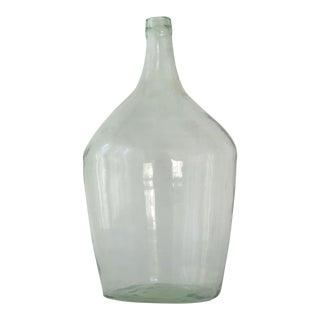 Vintage Hand Blown Demijohn Bottle