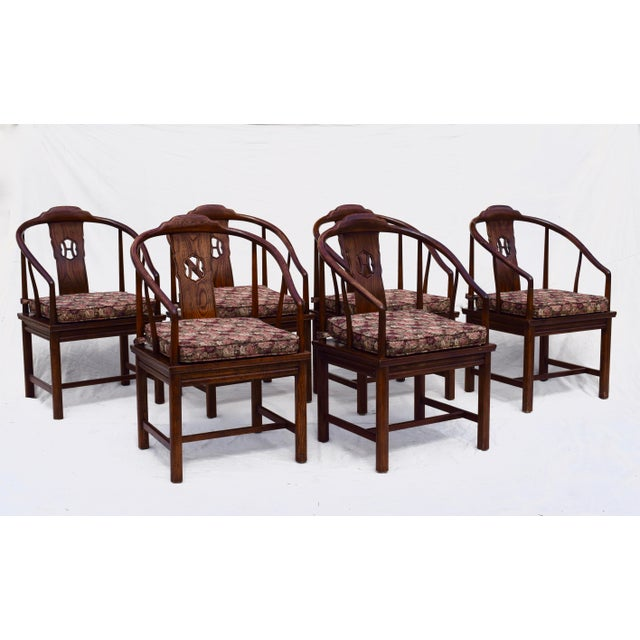 henredon chinoiserie dining room chairs set of 6 chairish