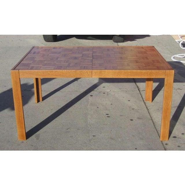 Parquet-Top Parsons Table - Image 3 of 6