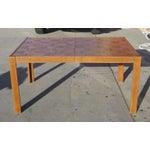 Image of Parquet-Top Parsons Table