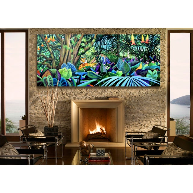 Domain of the Panthera Tigris Triptych - Image 2 of 10