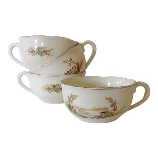 French Country Cups - Set of 4