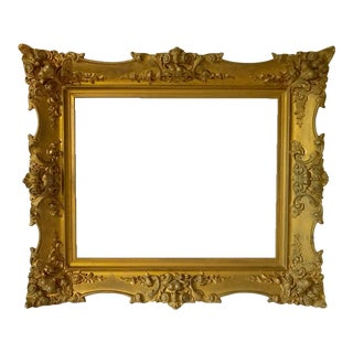Antique Gilt Carved Picture Frame