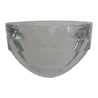 Orrefors Sweden Lancelot Crystal Bowl