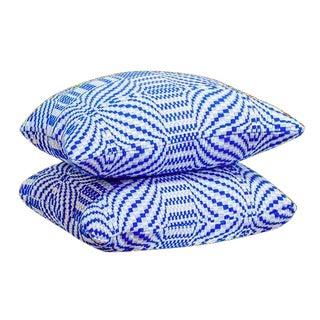 Vintage Knit Geometric Pillows