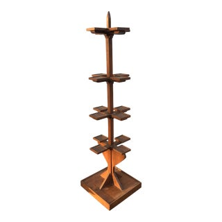 Tall Wooden Plant Stand