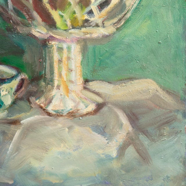 Oil Still Life With Porcelain Teacup - Image 4 of 5
