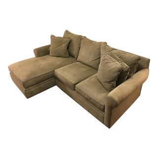 Macy's Doss Microfiber Sectional With Chaise
