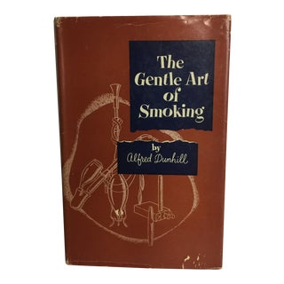 """The Gentle Art of Smoking"" Vintage 1954 Hardcover Book"