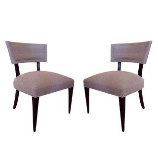 Pair of Sculptural Mid Century Chairs