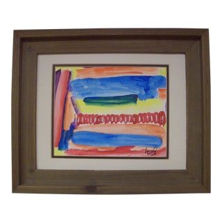 """Dawn Walling """"Counting the Days"""" Original Abstract Mixed Media Painting"""