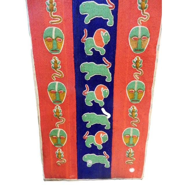 Nigerian Yoruba Beaded Large Panel/Door - Image 3 of 8