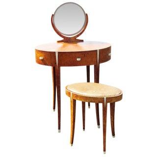 Deco Style Vanity & Bench