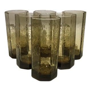 Facets Beverage Glasses - Set of 6