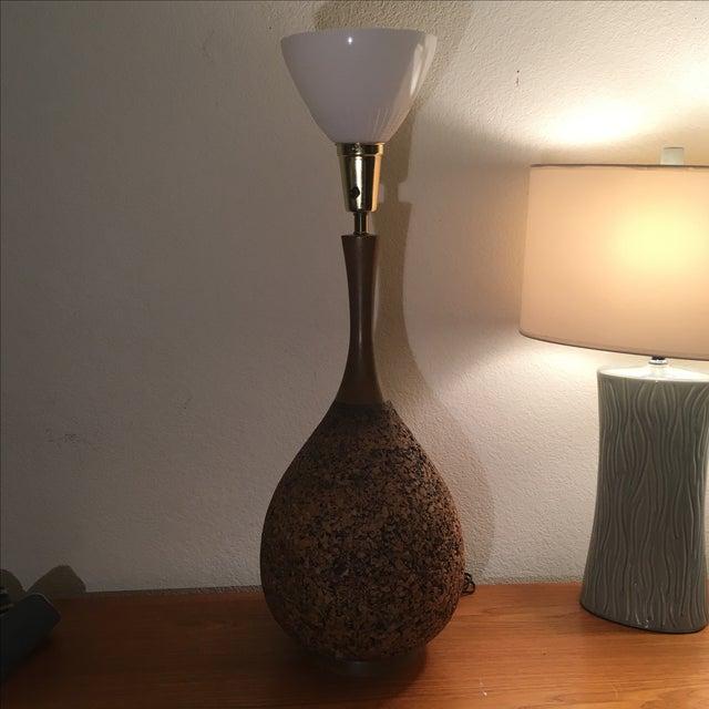 Image of Vintage Miller's of California Cork Lamp