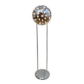 Modern Chrome Floor Lamp