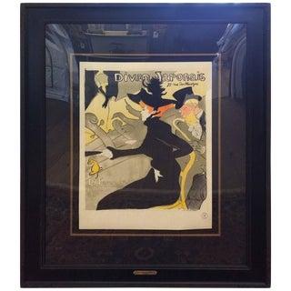 Toulouse-Lautrec Painting Color Lithograph