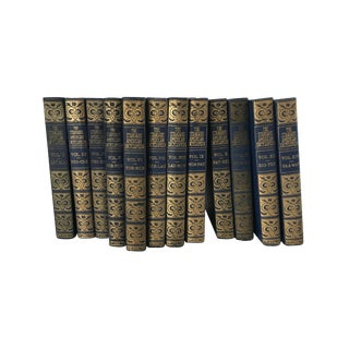 Vintage Traditional Encyclopedias - Set of 12