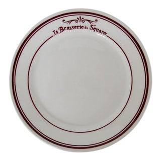 French Stoneware Plates - Set of 7