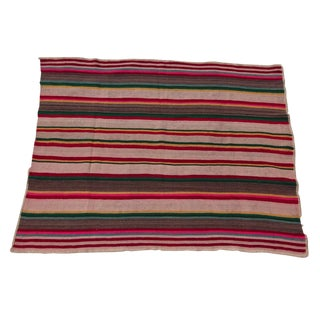 Hand-Spun Wool Frazada