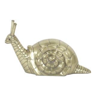 Bustamante Brass Snail