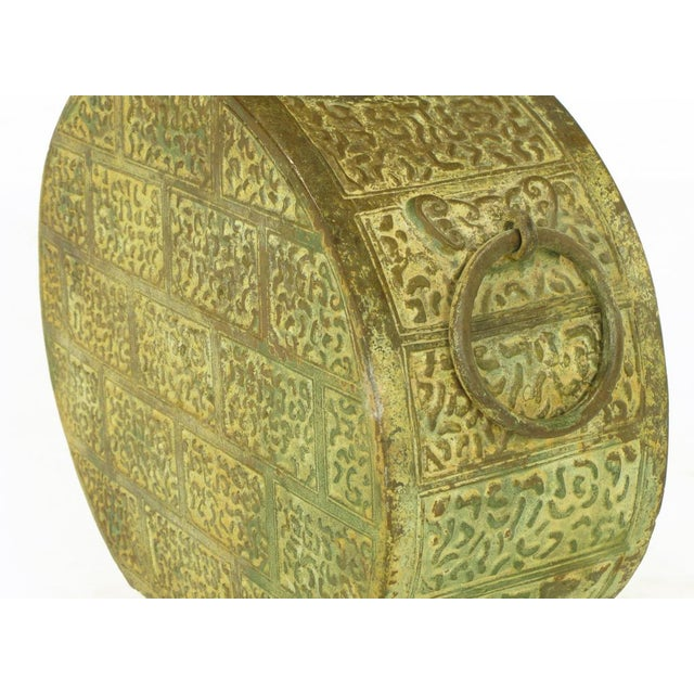 Pair Monumental Bronze Chinese Urn Table Lamps - Image 9 of 9