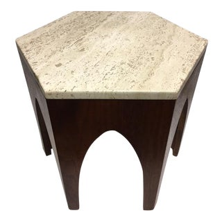 Harvey Prober Mid-Century Hexagonal Table